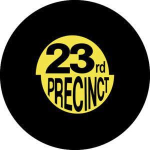 23rd precinct logo Slipmat