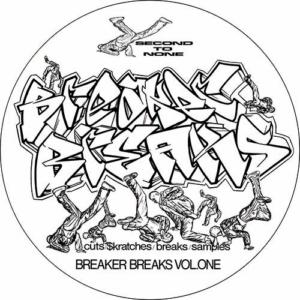 DJ Junk – Second To None 'Breaker Breaks Vol 1' Slipmat