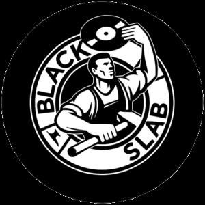 Black Slab – Steel Worker Logo Slipmat