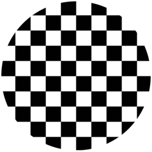 Ska – Large – Black & White Slipmat