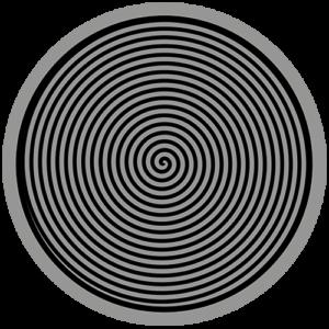Spiral – Grey / Black