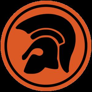 Trojan – Orange / Black Slipmat