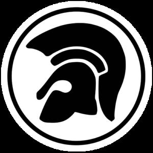 Trojan – White / Black Slipmat