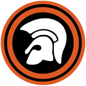 Trojan – White / Orange Slipmat