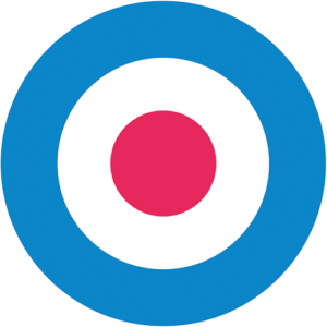 Mod Target – Light Blue