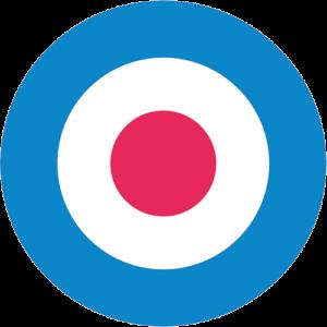 Mod Target – Light Blue Slipmat