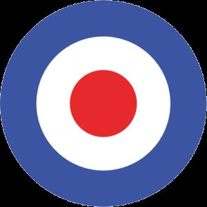 Mod Target – Dark Blue Slipmat