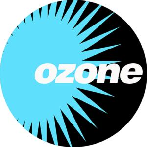 Ozone Logo Blue Slipmat
