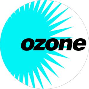 Ozone Logo White Slipmat