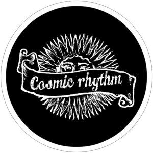 Cosmic Rhythm Black Slipmat