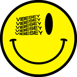 Vibesey Smiley Yellow