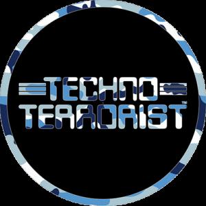 Techno Terrorist – Blue Camo