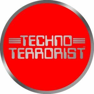 Techno Terrorist – Silver Red