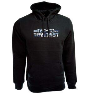 Techno Terrorist Hoodie – Camo Blue