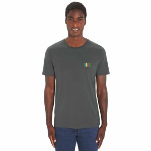 NORTH by Noctū Small Logo – Dark Grey T-shirt