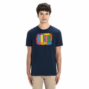 NORTH by Noctū Large Front – Navy T-shirt