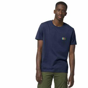 NORTH by Noctū Small Logo – Navy T-shirt