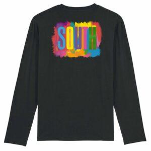 Noctu – South Long Sleeve T-shirt Version 1