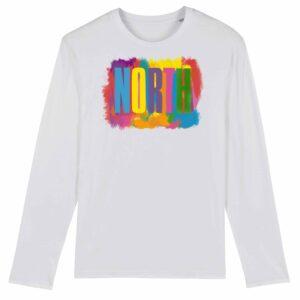 Noctu – North Long Sleeve T-shirt Version 2