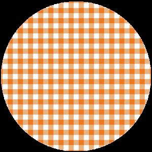 Black Slab Gingham Orange Slipmat