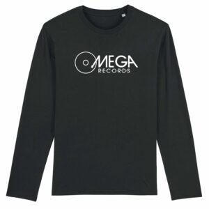 Omega Records Long Sleeve T-shirt Black