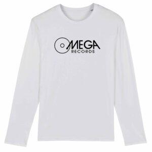 Omega Records Long Sleeve T-shirt White