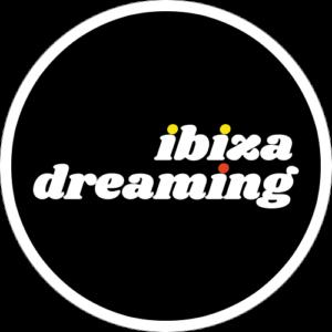 Ibiza Dreaming Slipmat Design 1 Black