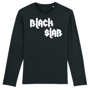 Black Slab Metal Long Sleeve T-Shirt