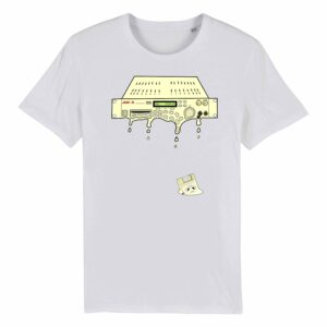 Juic-e – AKAI Drip White T-shirt