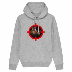 Trans4mers USG – Ape Gun Grey Hoodie