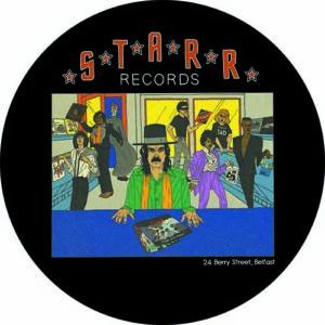 Starr Records – Black Slipmat