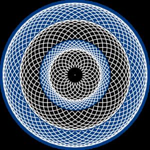 Spinner Blue Animated Slipmat