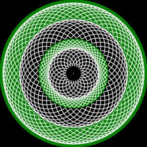 Spinner Green Animated Slipmat