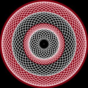 Spinner Red Animated Slipmat