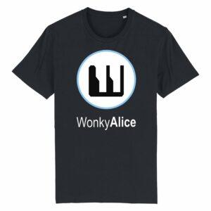 Wonky Alice T-shirt – Blue