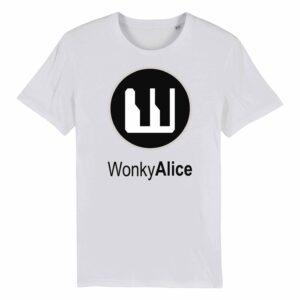 Wonky Alice T-shirt – Grey