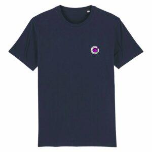 Hardcore Vinylists – Small Pink Logo T-shirt