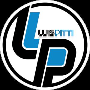 Luis Pitti – Logo White Slipmat
