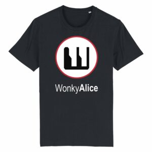 Wonky Alice T-shirt – Red