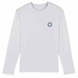Hardcore Vinylists – Small Camo Logo Long Sleeve T-shirt