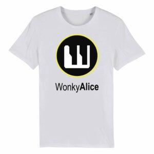 Wonky Alice T-shirt – Yellow