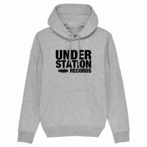 Understation Records – Grey Hoodie