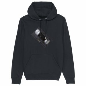 8 zero 8 Productions – Dark 2 VHS Black Hoodie