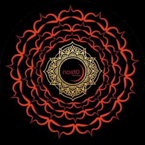 Noctu – Red & Black Chakra Slipmat