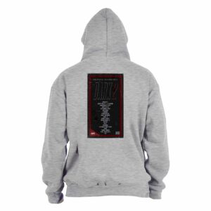 8 zero 8 Productions – Dark 2 VHS Grey Hoodie