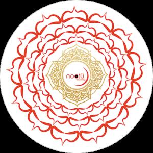 Noctu – Red & White Chakra Slipmat